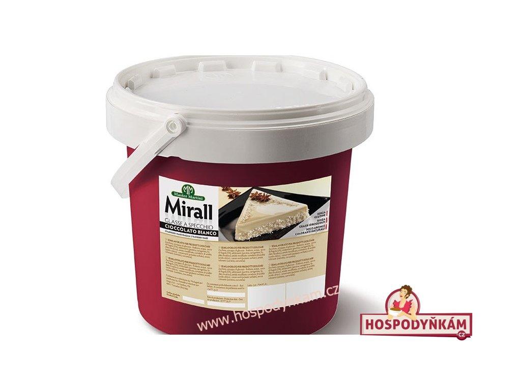 Mirall White Chocolate 3kg