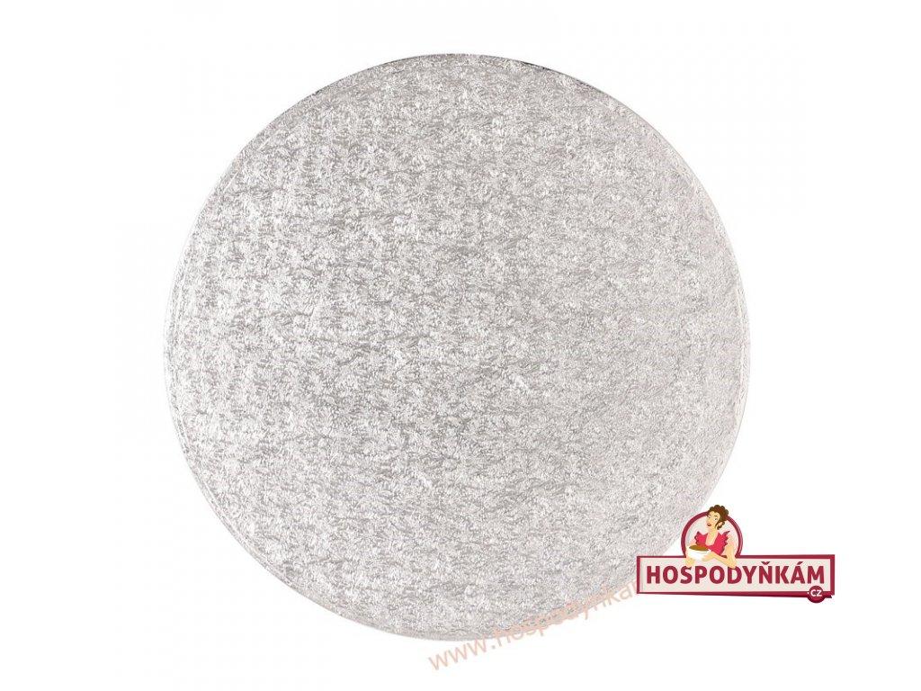 Culpitt Stříbrný tác kruh 50,8cm
