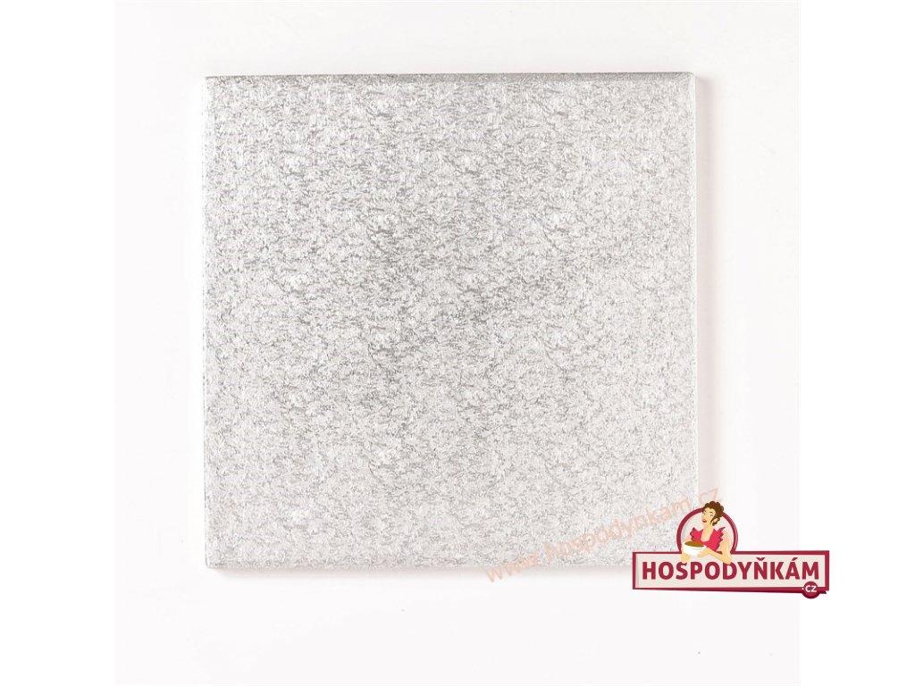 Culpitt Stříbrný tác čtverec 45,7cm