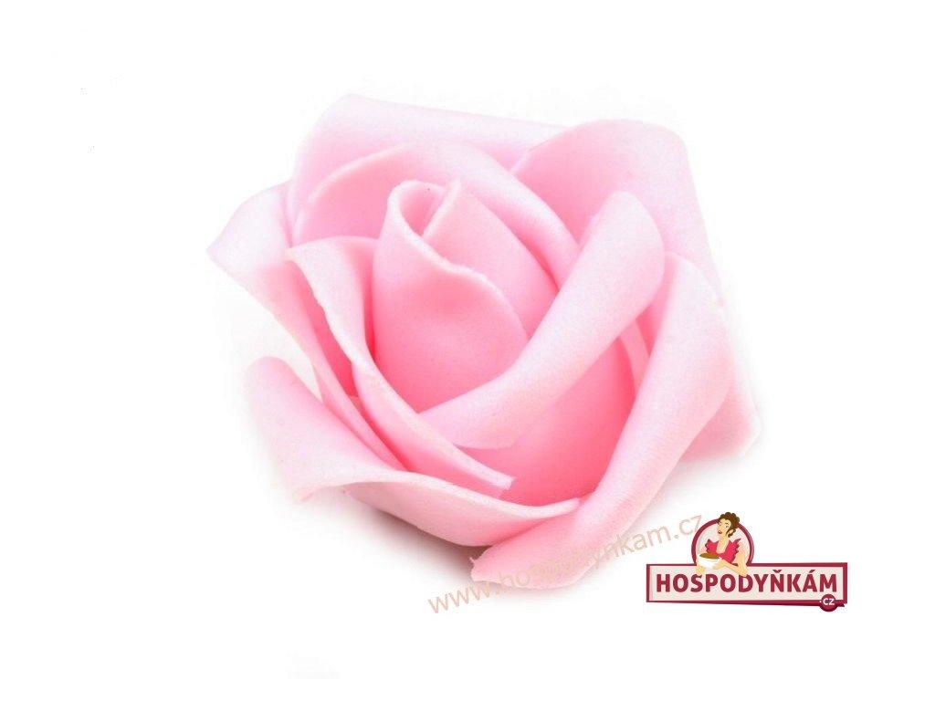 Nejedlá dekorace Růžová růže 4,5cm