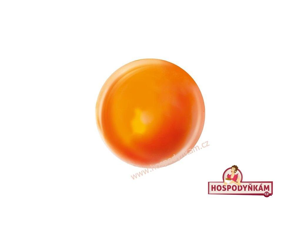 Čokoládová koule Oranžový mramor 7ks