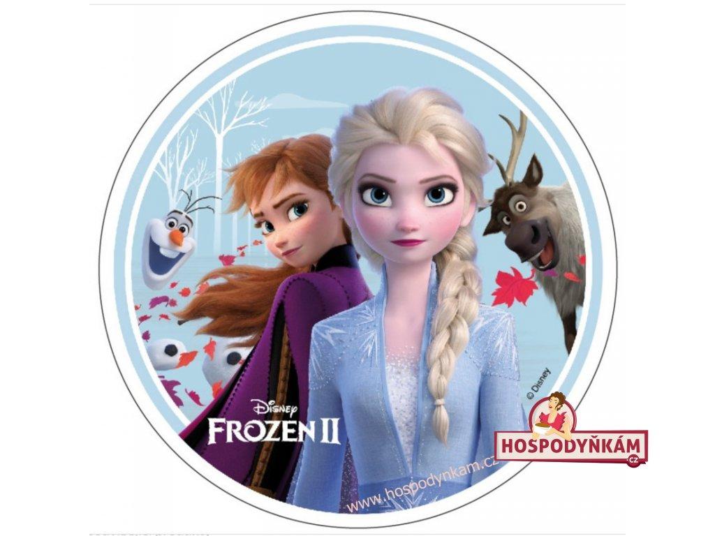 Jedlý papír Frozen II, motiv 3