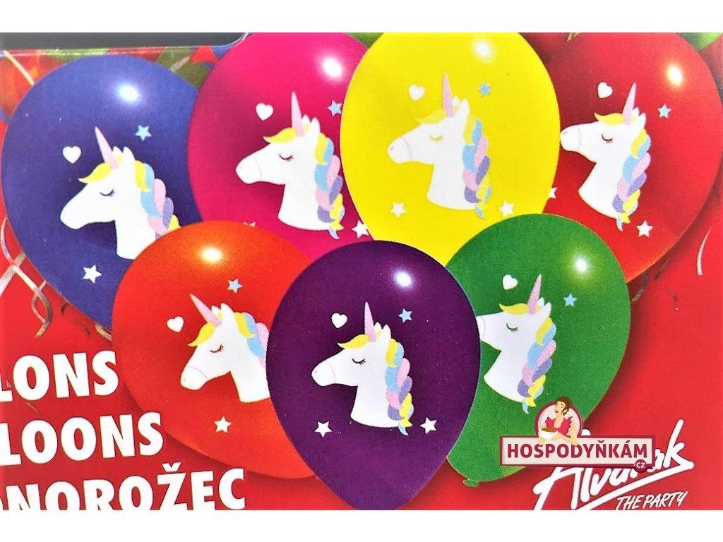 Balónky Jednorožec 7ks