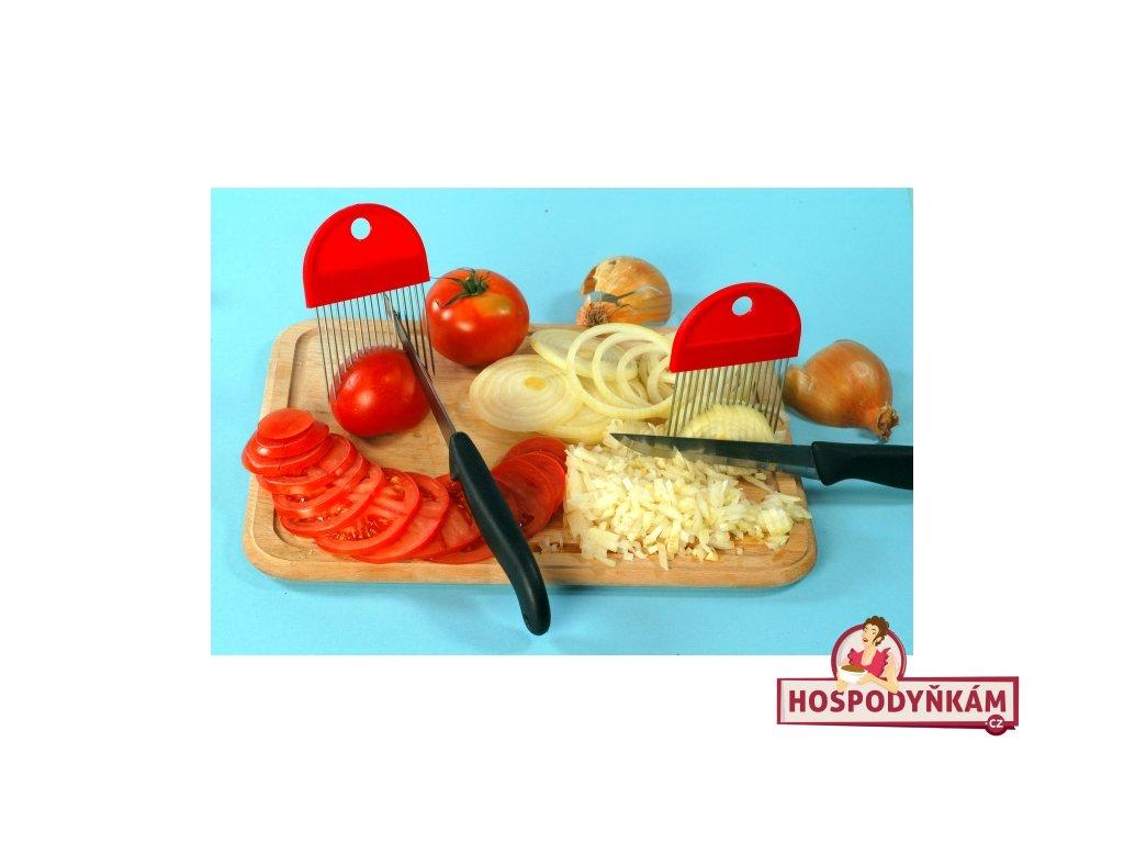 Držák na krájení cibule i rajčat