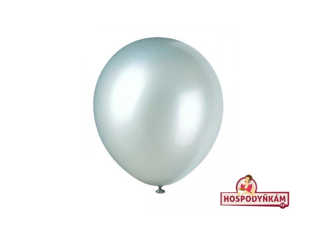 Balónky stříbrné