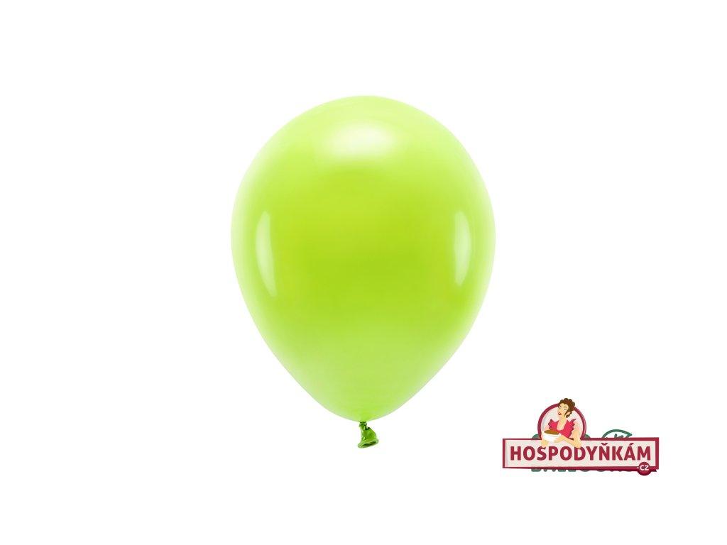 Balónky lipově zelené