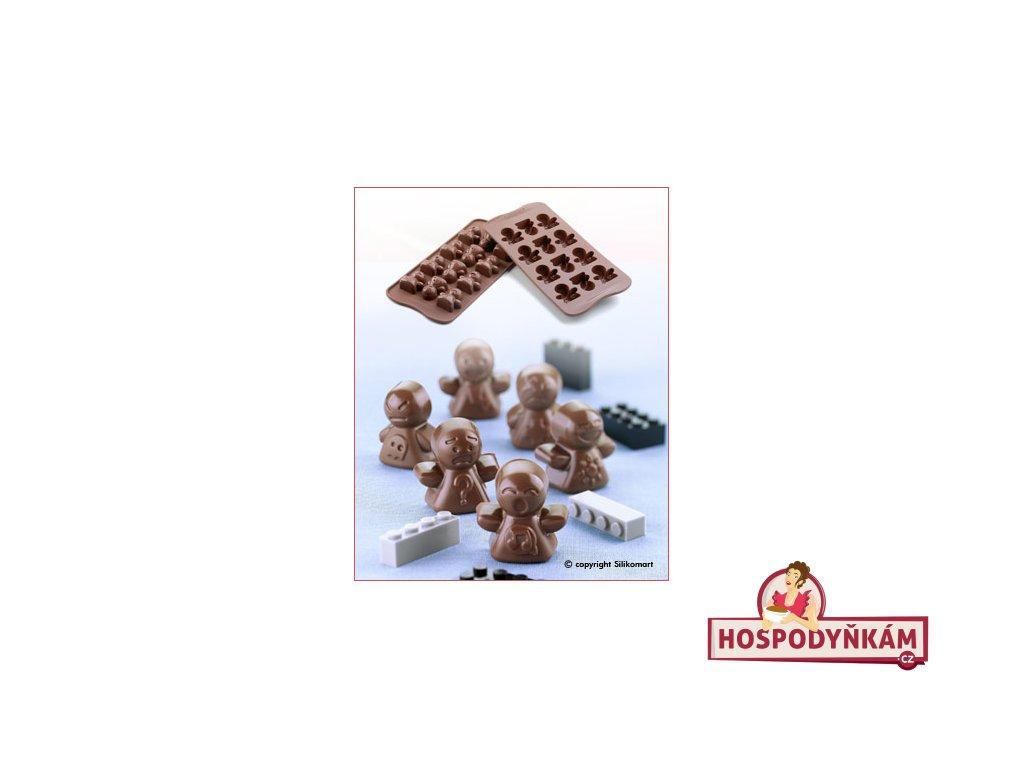 Silikonová forma na čokoládu Mood
