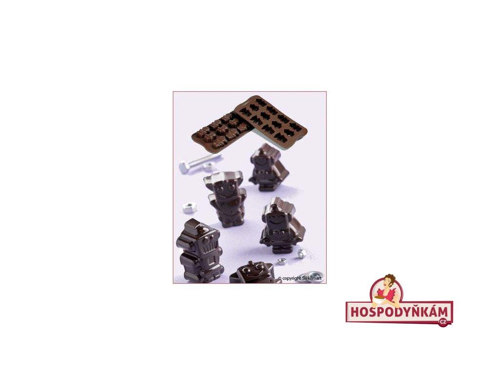 Silikonová forma na čokoládu Robochoc