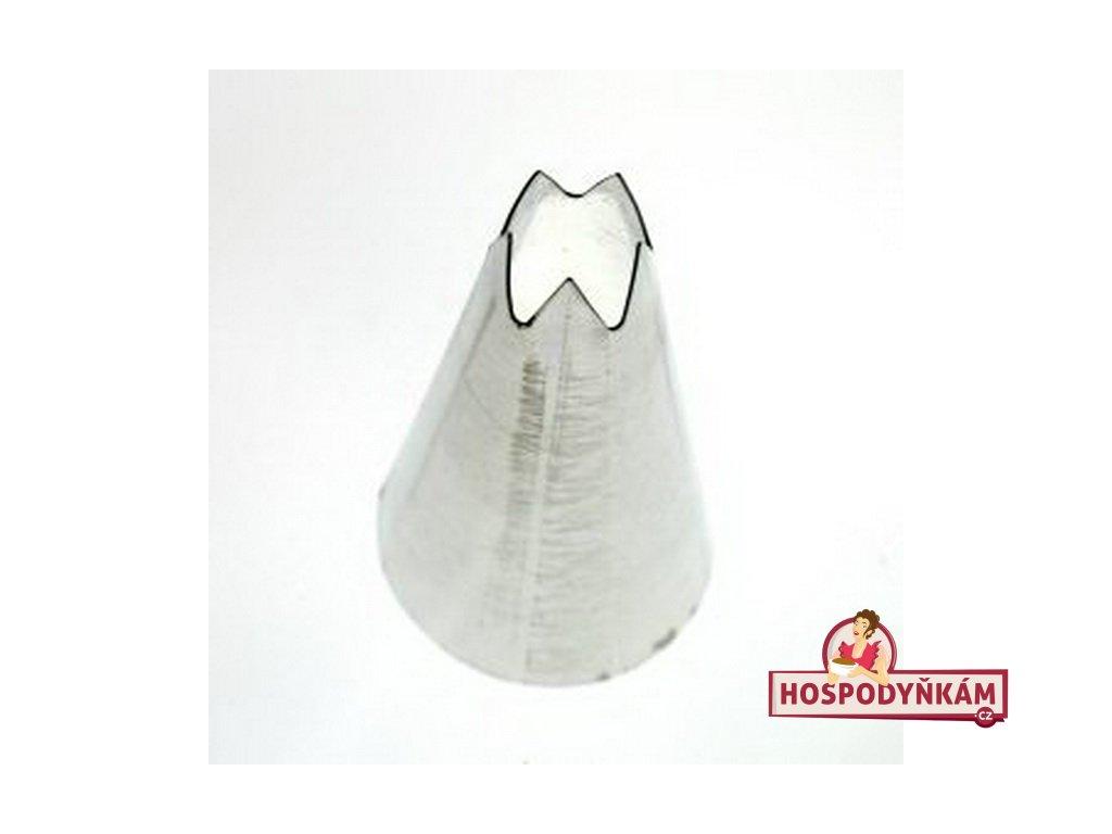 Zdobící špička průměr 8mm-5 zubů