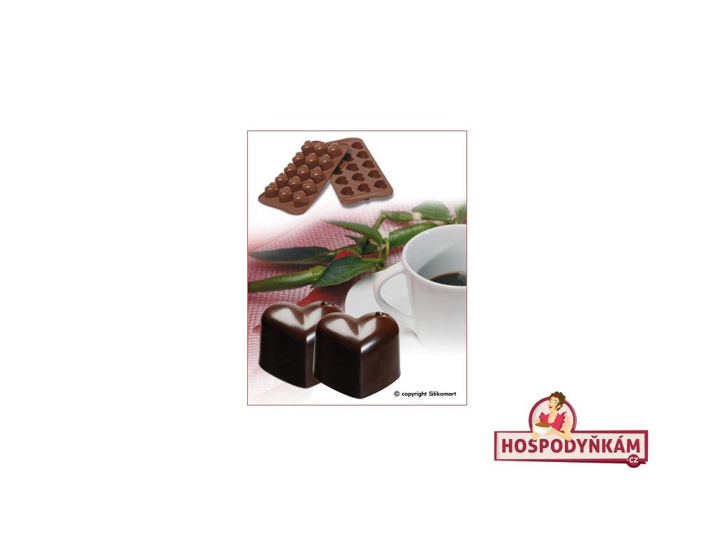 Silikonová forma na čokoládu Monamour