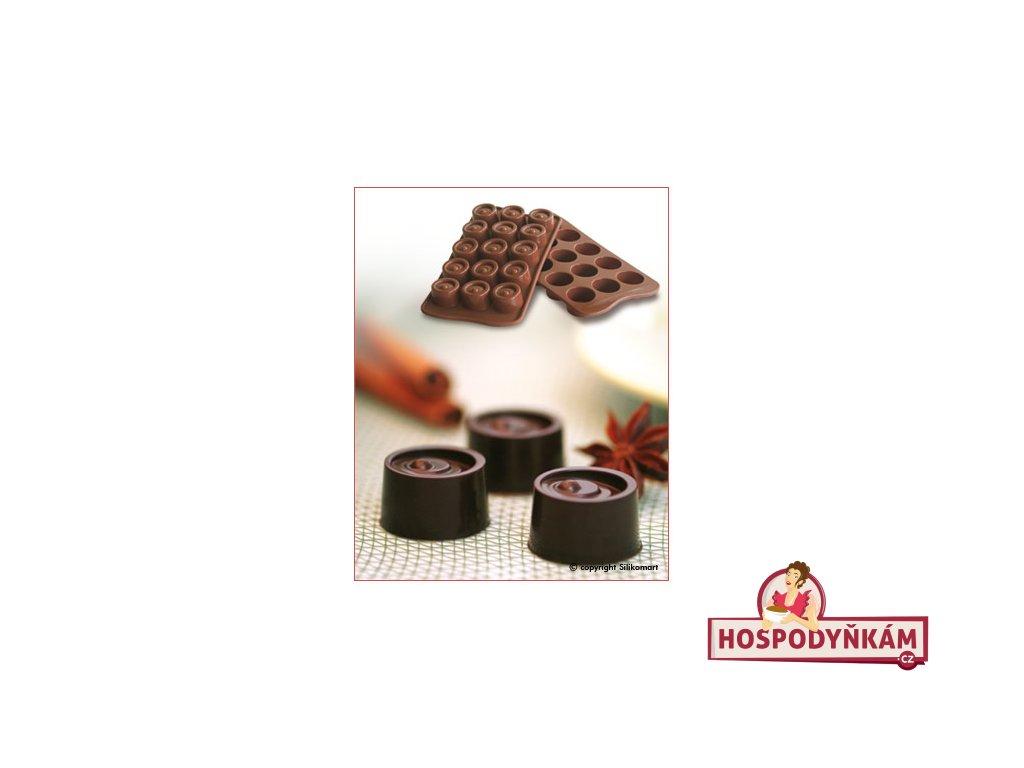 Silikonová forma na čokoládu Vertigo