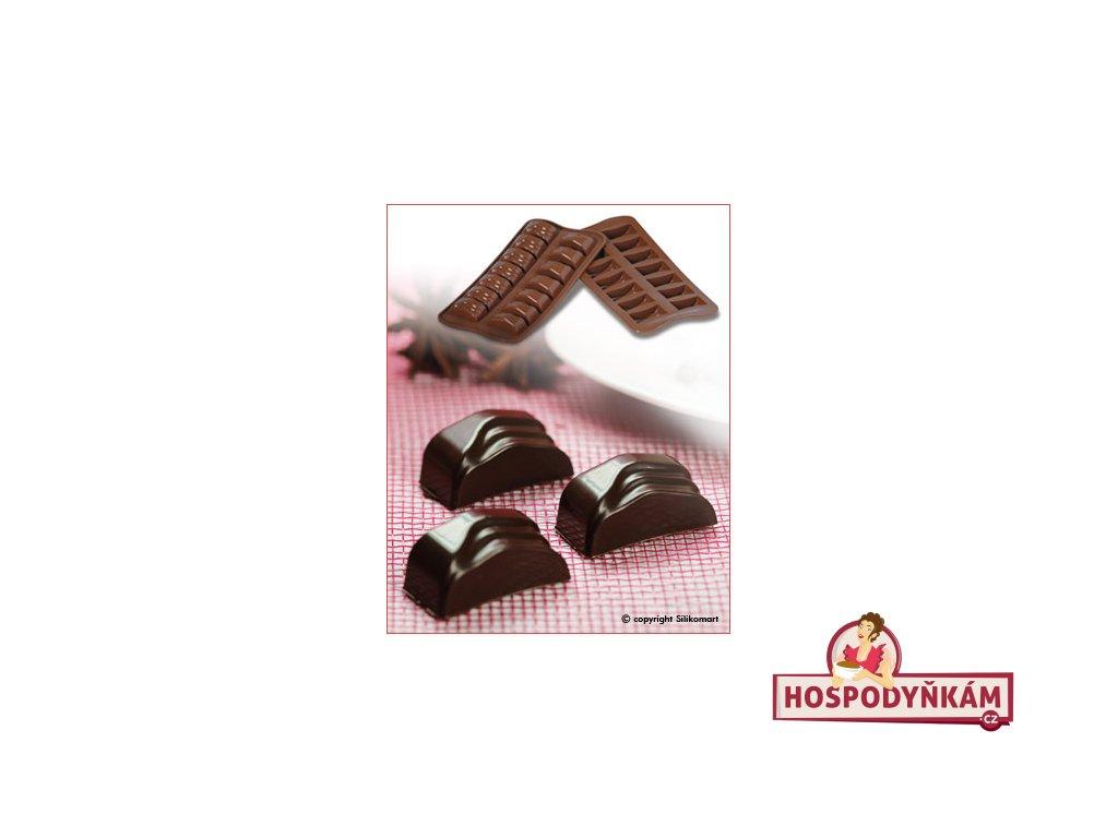 Silikonová forma na čokoládu Jack