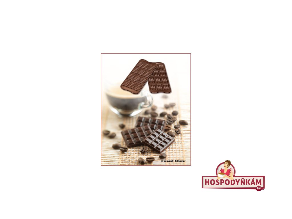 Silikonová forma na čokoládu Tablette