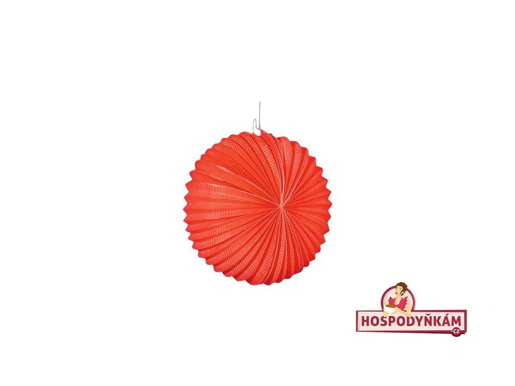 Lampion červený