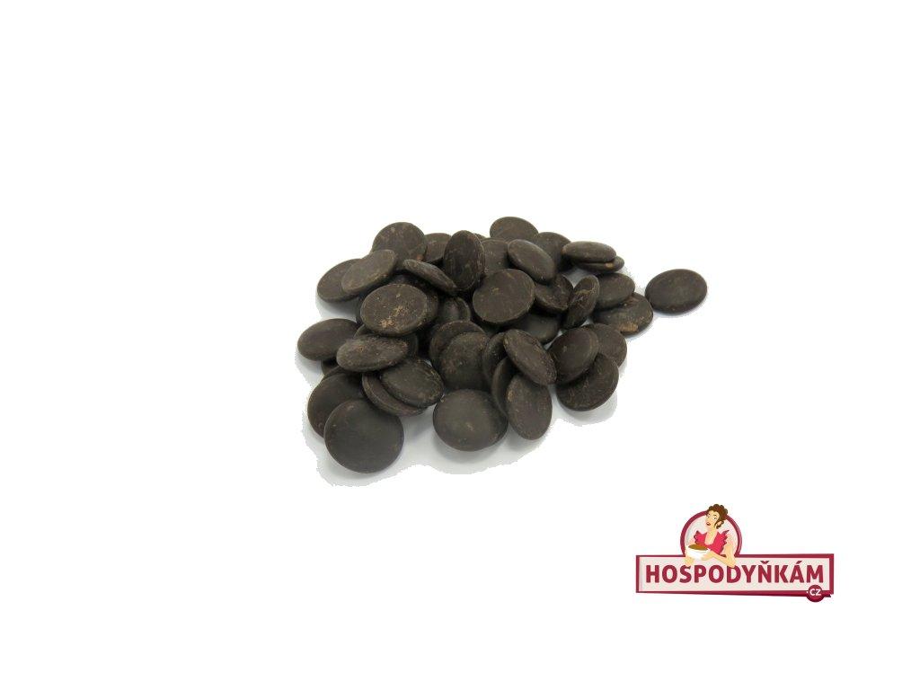 Čokoládová poleva extra tmavá 500g