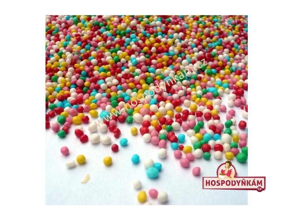 Cukrové zdobení - barevný máček 40g