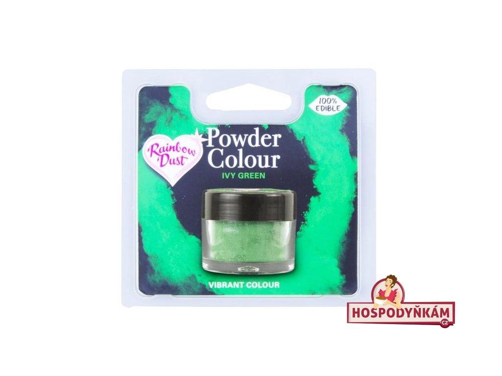 Prachová barva Ivy Green