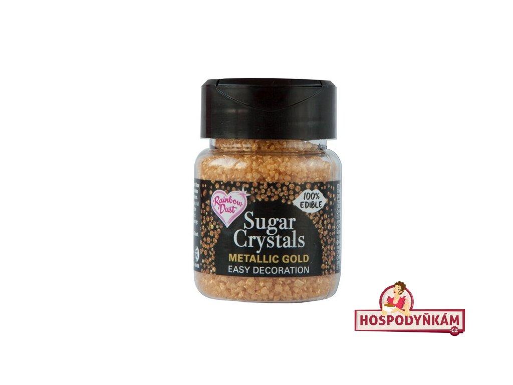 Cukrové krystaly Zlaté 50g