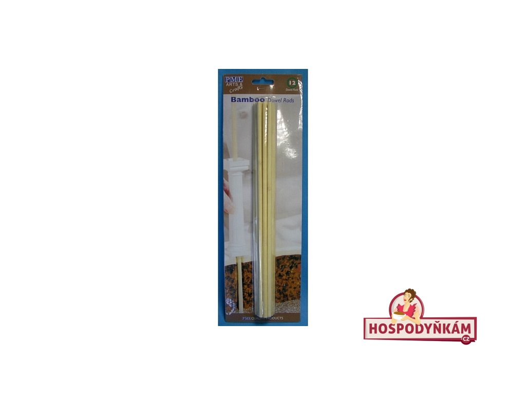 Bambusové výztuže do dortu, 30cm