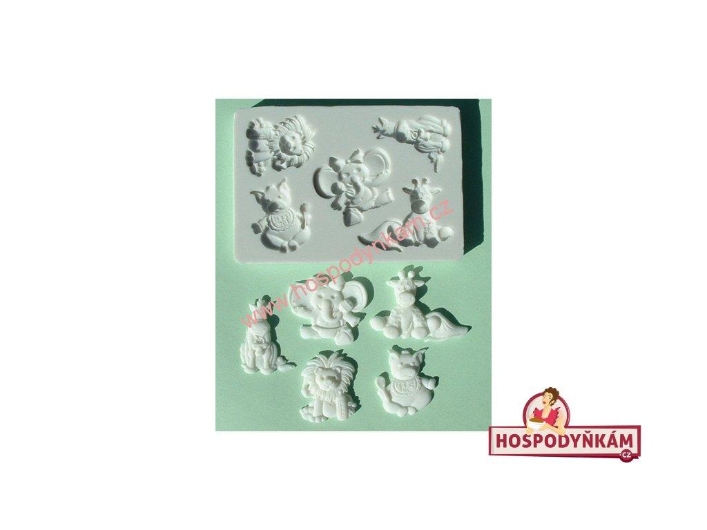 Silikonová forma na marcipán - mláďata