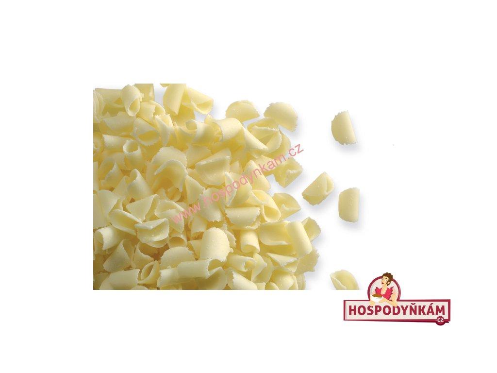 Čokoládové kudrny bílé 50g