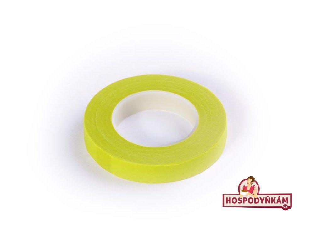 Floristická páska žlutá