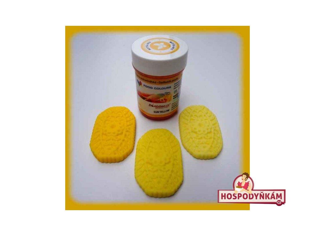Gelová barva Food Colours, Sun Yellow