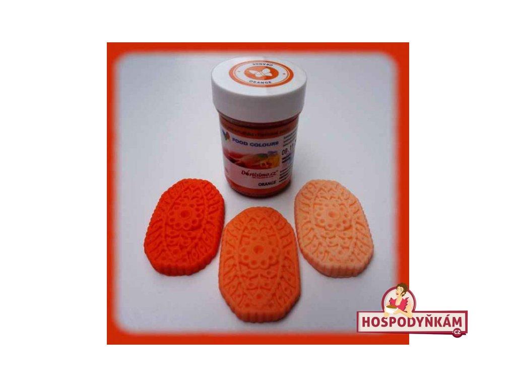 Gelová barva Food Colours, Orange