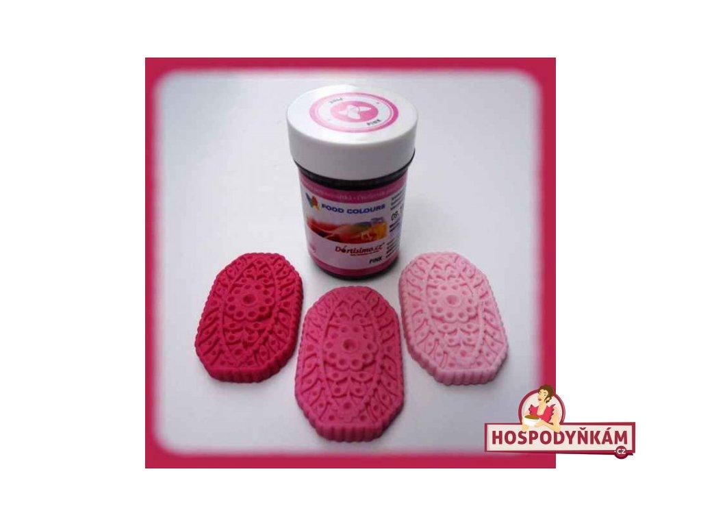 Gelová barva Food Colours, Pink
