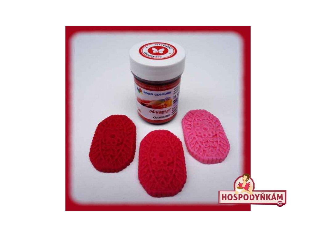 Gelová barva Food Colours, Carmine Red