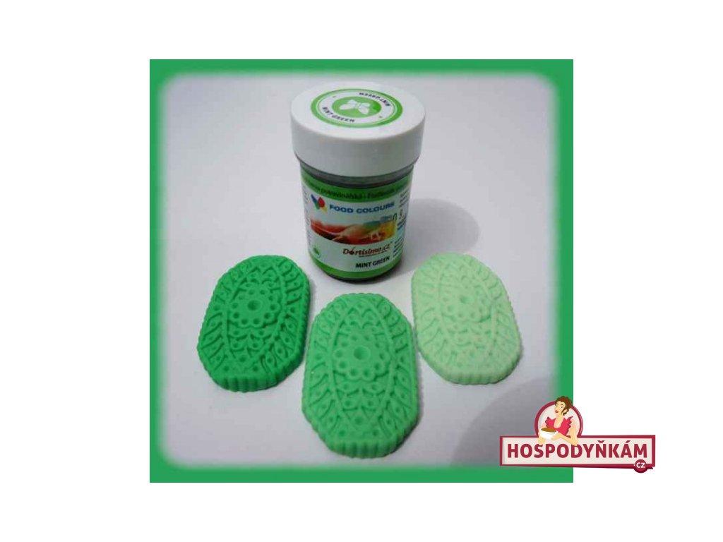 Gelová barva Food Colours, Mint Green