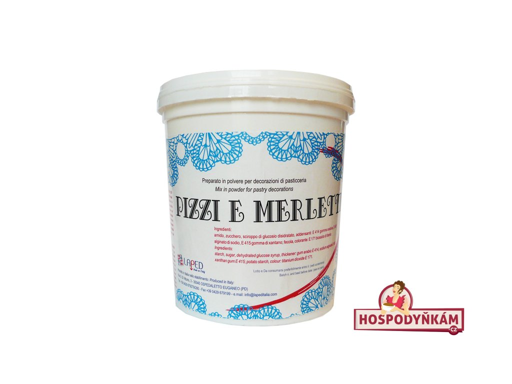 Jedlá krajka Pizzi e Merletti 300g