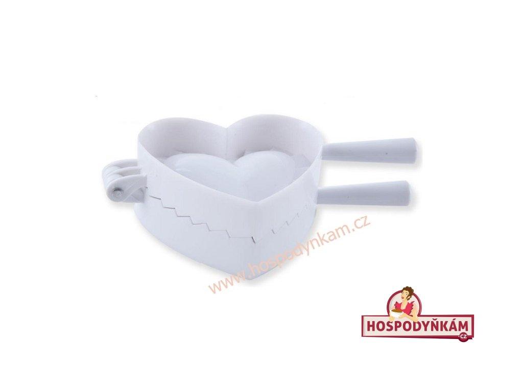 Forma na plněné pečivo Srdce