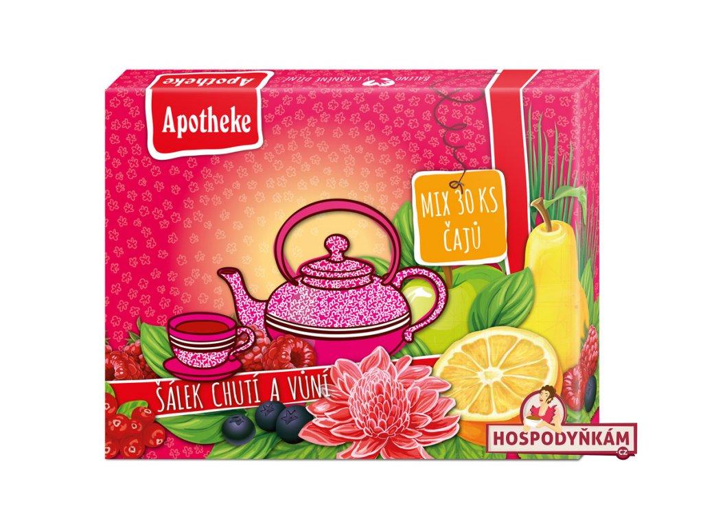 Apotheke Kolekce prémiových čajů 30ks