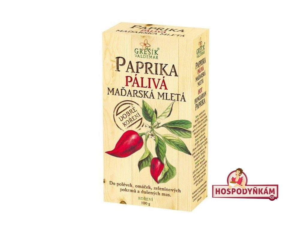 Koření Paprika pálivá maďarská mletá 100g