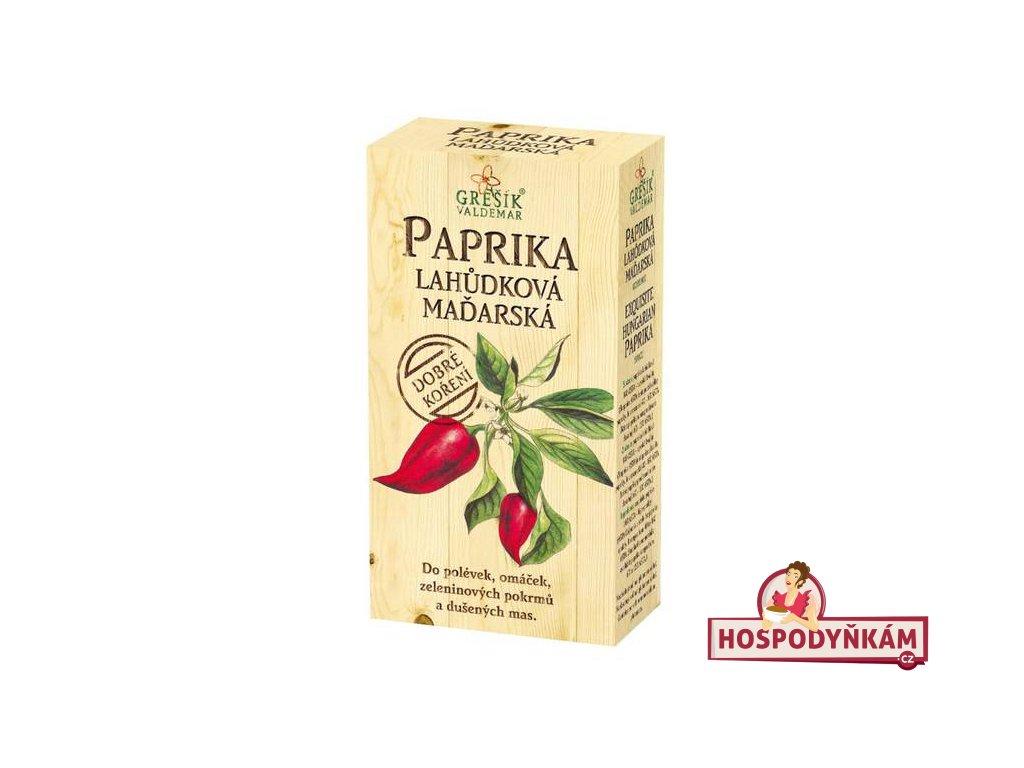 Koření Paprika lahůdková maďarská 100g