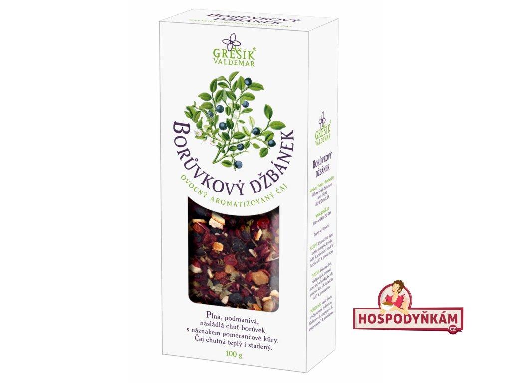 Grešík Ovocný čaj Borůvkový džbánek