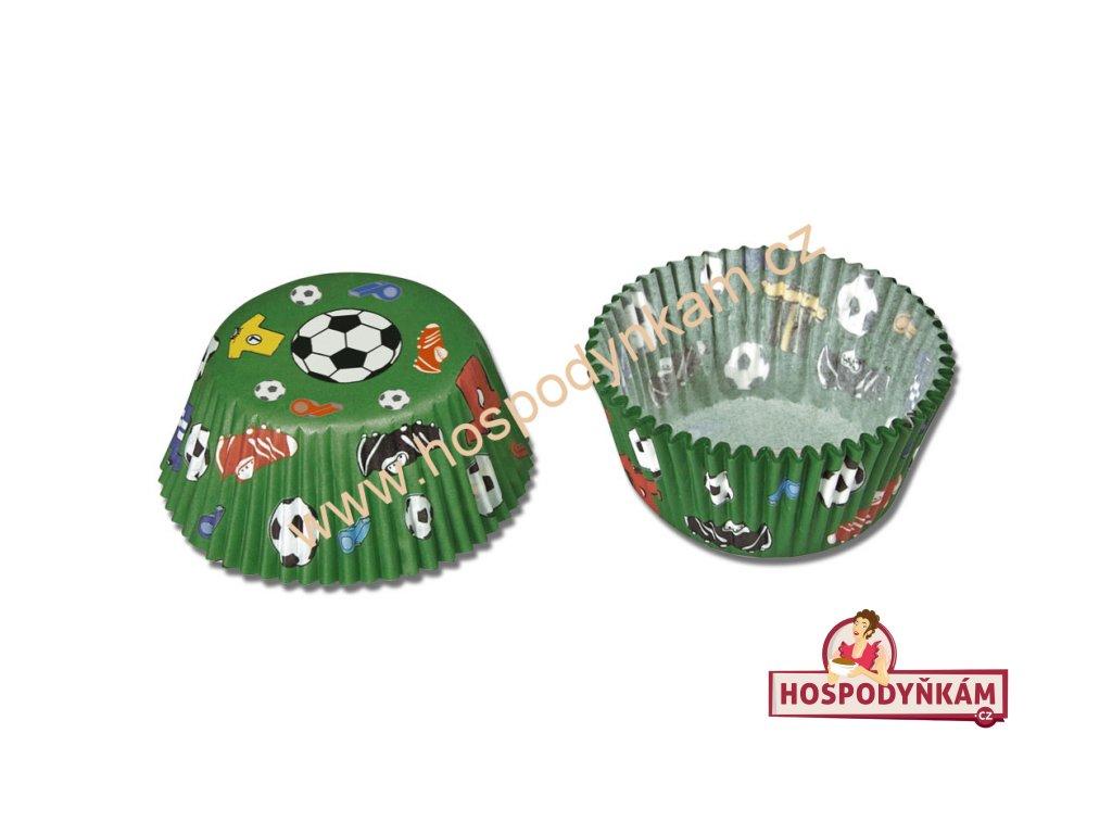 Cukrářské košíčky na pečení fotbal