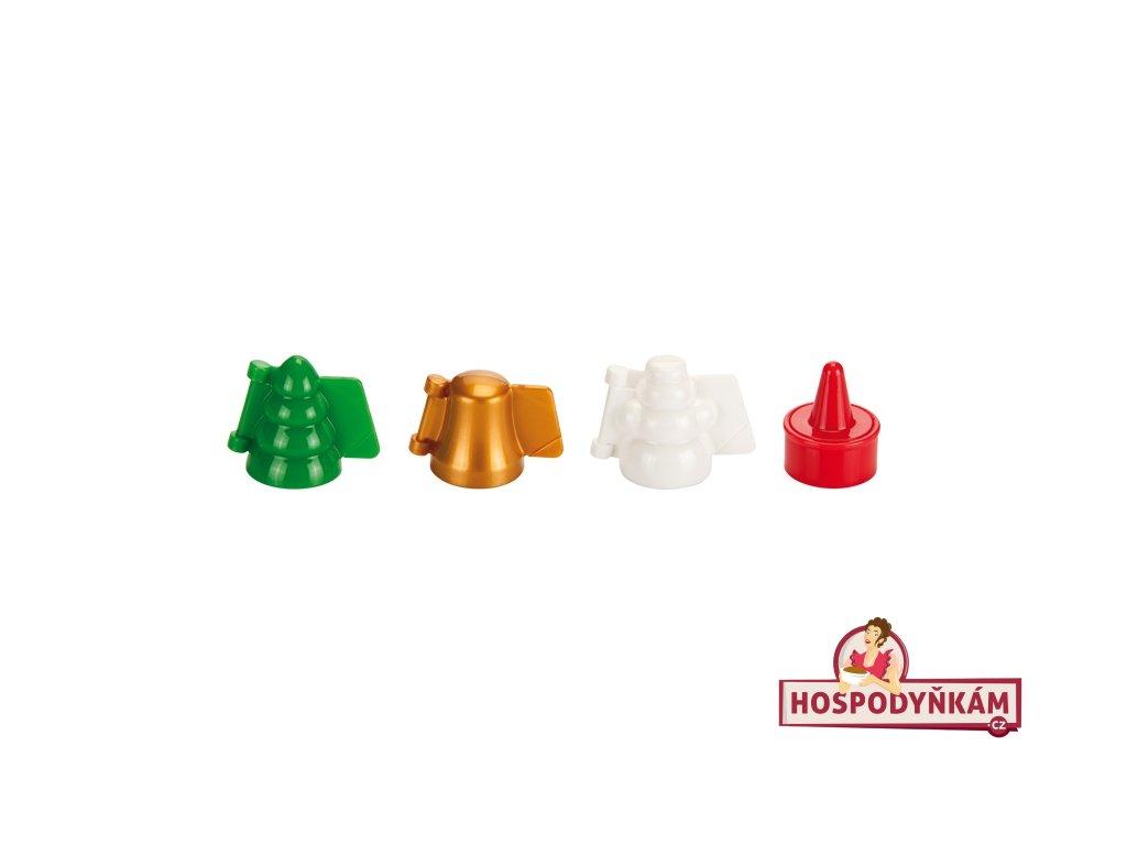 Formičky na plněné cukroví Tescoma, vánoční motivy
