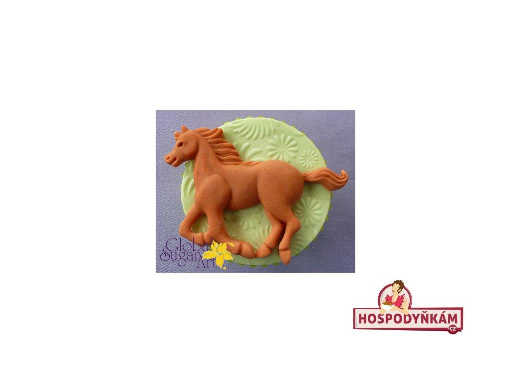 Silikonová forma na marcipán - běžící kůň