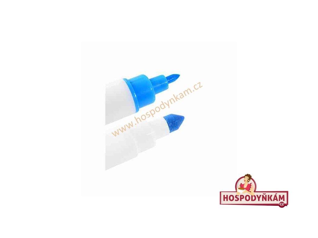 Jedlý fix Modecor, oboustranný modrý