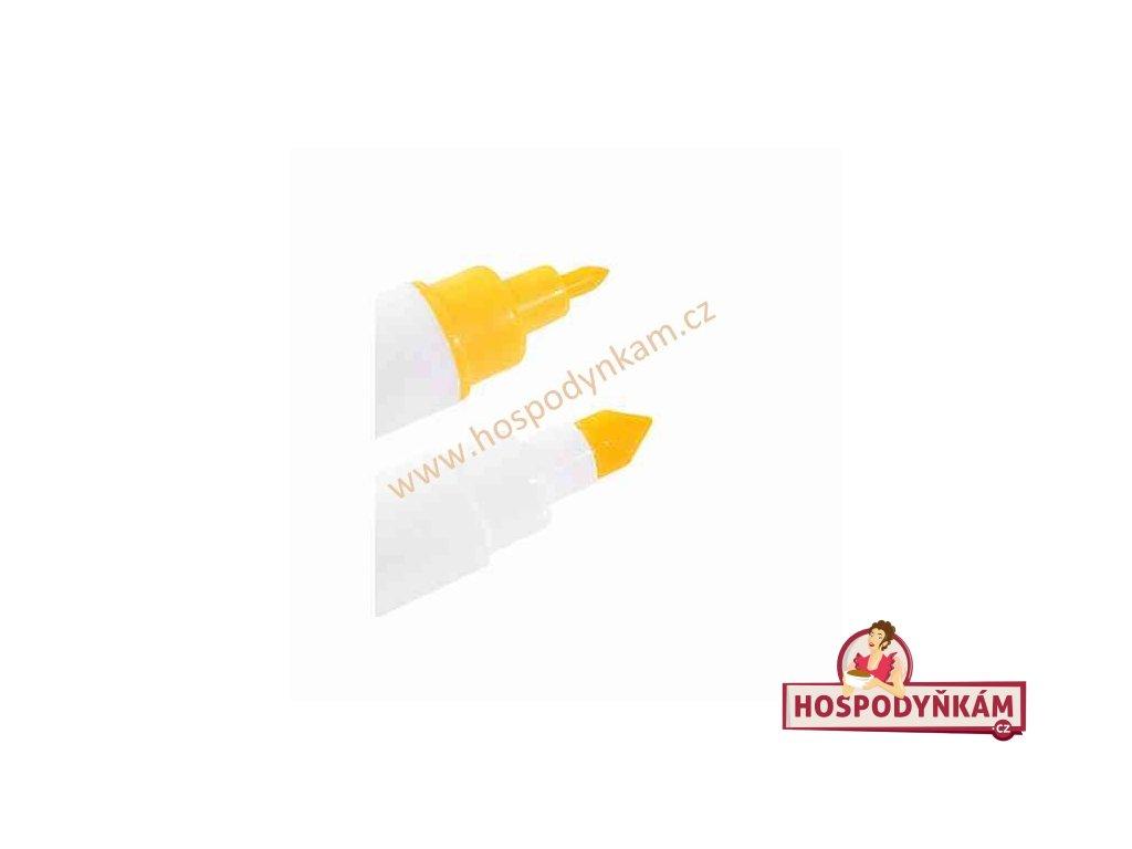 Jedlý fix Modecor, oboustranný žlutý