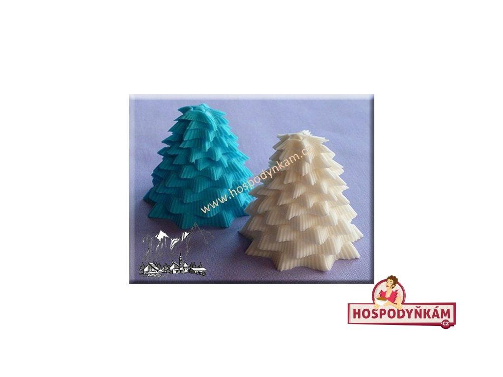 Silikonová forma na marcipán - 3D strom