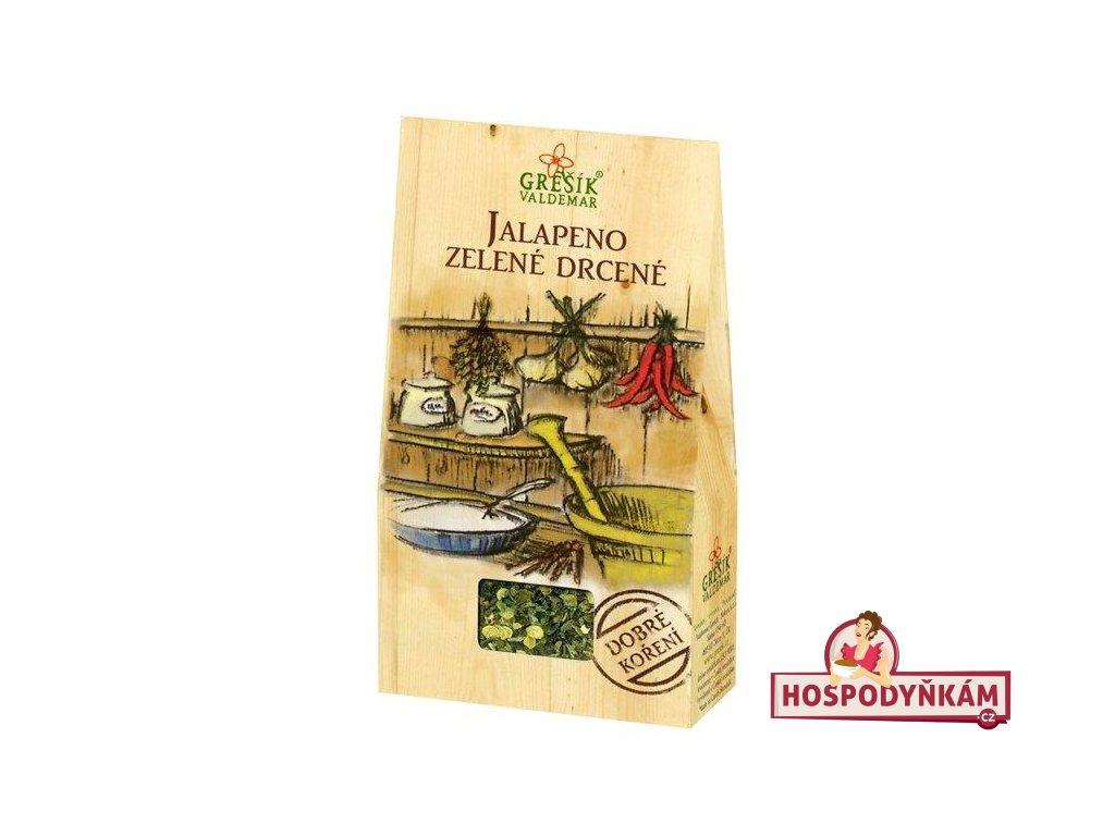 Koření Jalapeno zelené drcené 15g