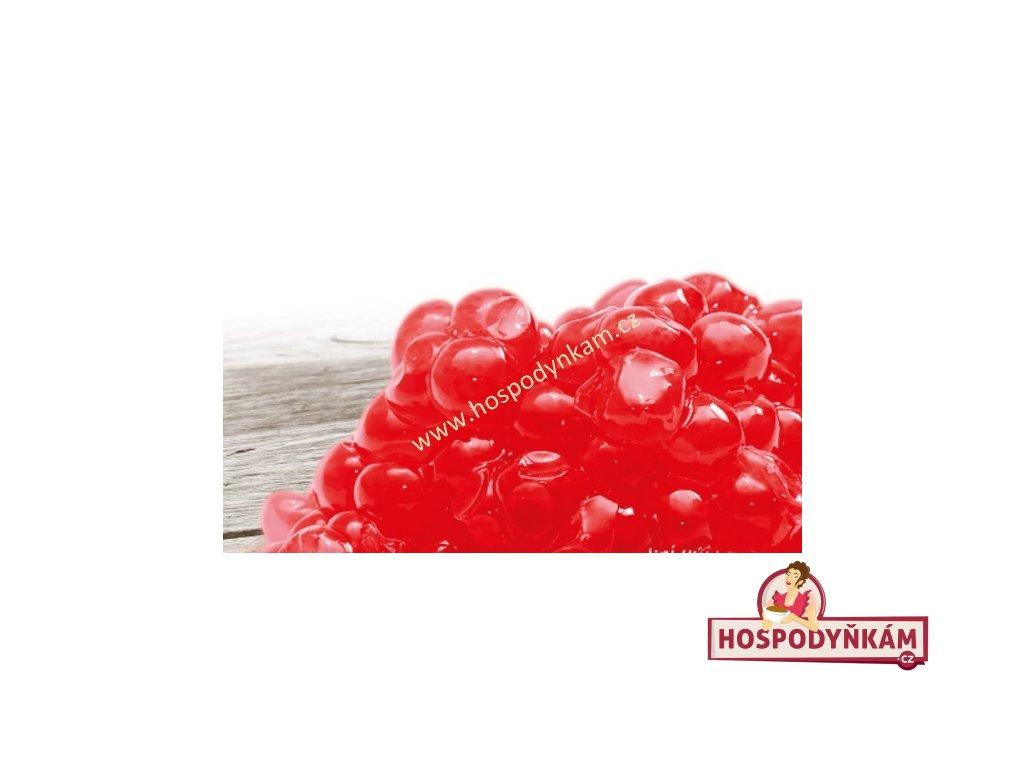 Alginátové ovoce červené 100g