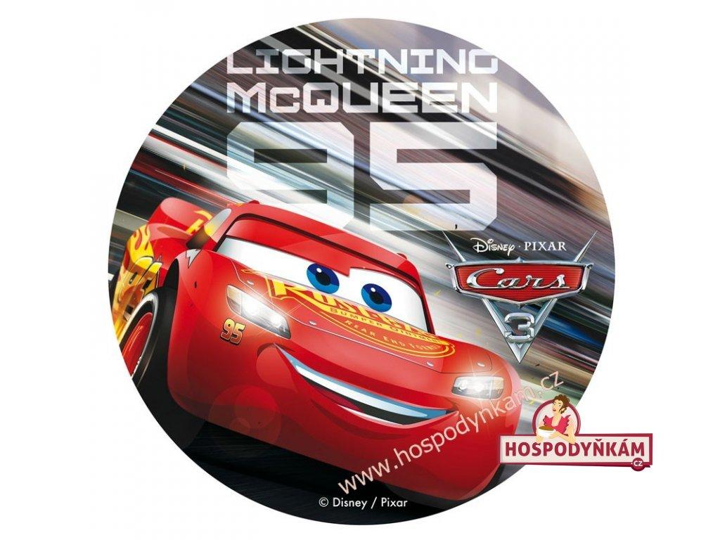 Jedlý papír deKora, Cars Blesk McQueen