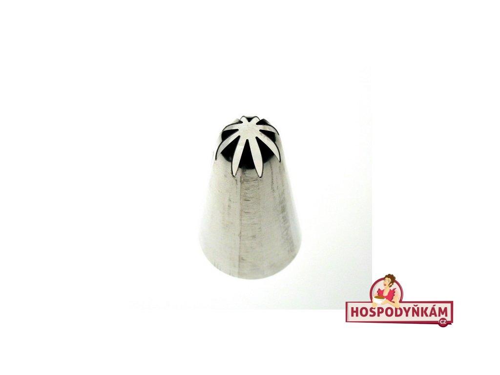 Špička velká pr. 10mm-8 zubů klopená