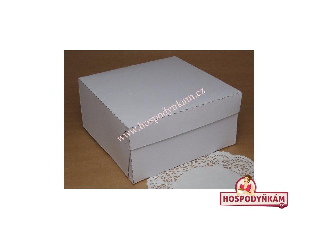 Dortová krabice pevná malá