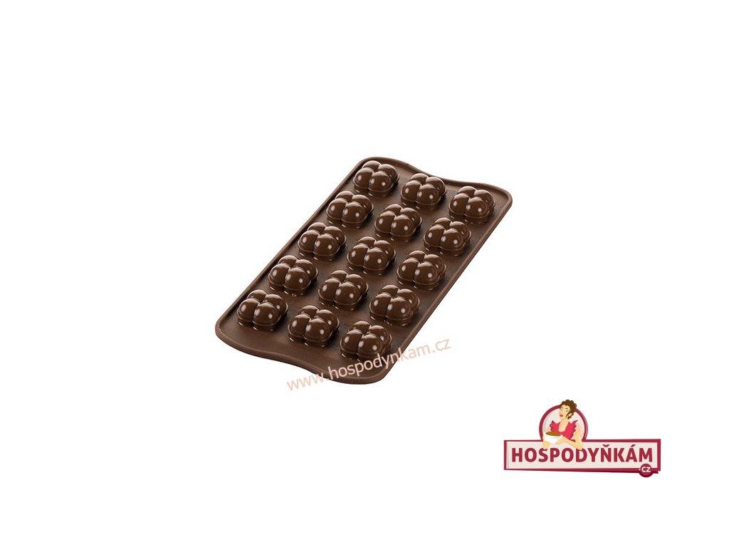 Silikonová forma na čokoládu Choco game 3D
