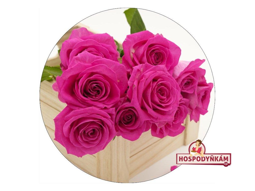 Jedlý papír růže